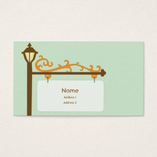 Street Sign - Business Business Card
