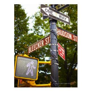 Street Signs 2 Postcard