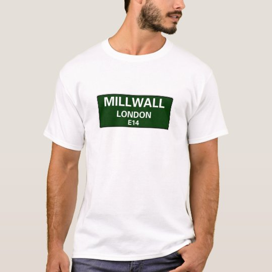 STREET SIGNS - LONDON - MILLWALL E14 T-Shirt
