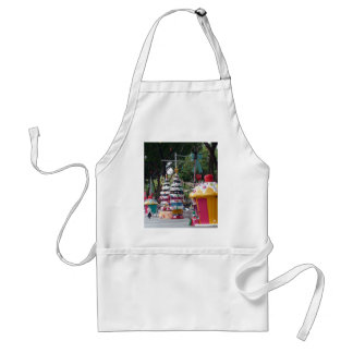 Street size Christmas decorations Aprons