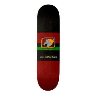 #Street Skaten/Skateboard deck in red green black Skate Board Decks