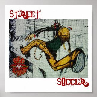 Street Soccer Poster