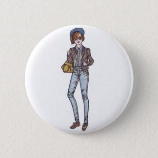 street style 2 inch round button