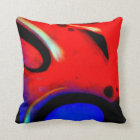 Street Style Pillow. Design. BY Frank Mothe. Throw Pillow