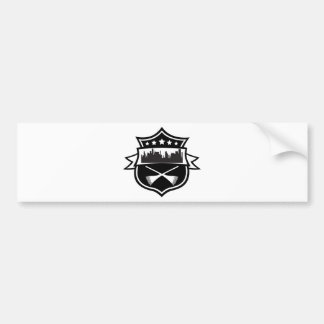 street sweeper bumper sticker