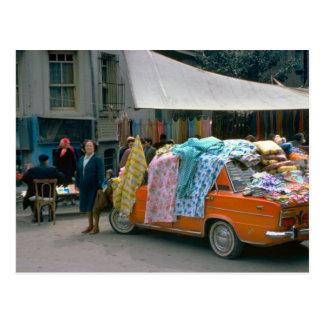 Street vendor, Cernobbio, Como Postcard