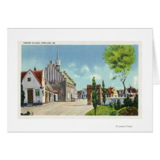 Street View of the Danish Village Card