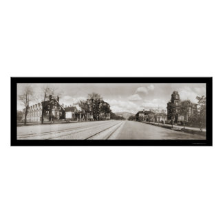 Street View Salt Lake Photo 1913 Poster