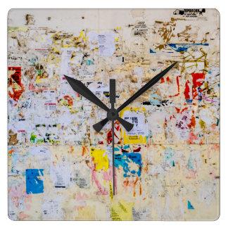 Street Wall Wall Clocks
