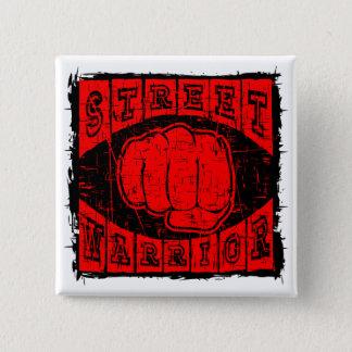 street warrior 2 inch square button