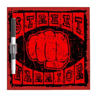 street warrior dry erase board