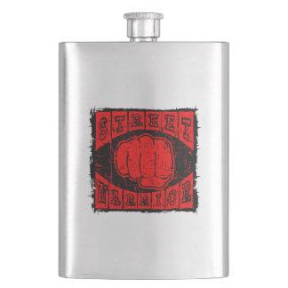 street warrior hip flask