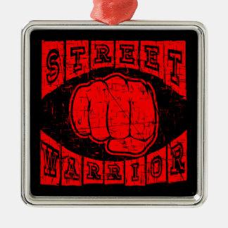 street warrior metal ornament