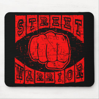 street warrior mouse pad