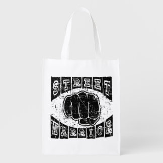 street warrior reusable grocery bag