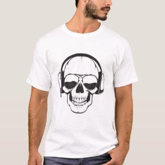 Street Wize Clothing (Music Skull) T-Shirt