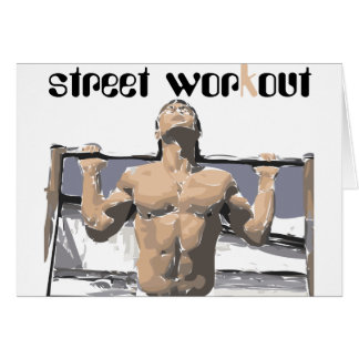 Street workout and Fitness for you. Card