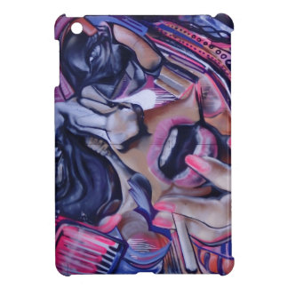 Streetart font face coques pour iPad mini