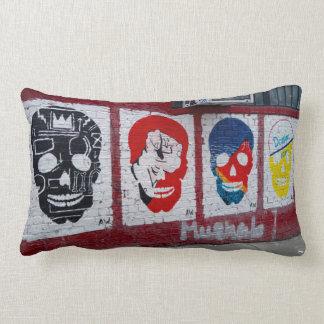 Streetart Skulls Pillow