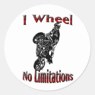 Streetbike Stunt Stickers No Limitations