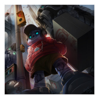 Streetbot Poster