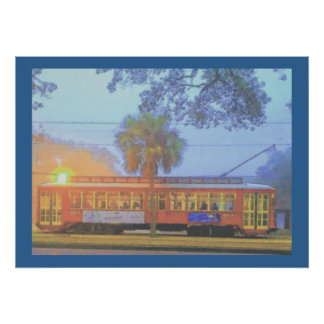 Streetcar, Off to Work Poster