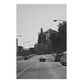 Streets of Austin Poster