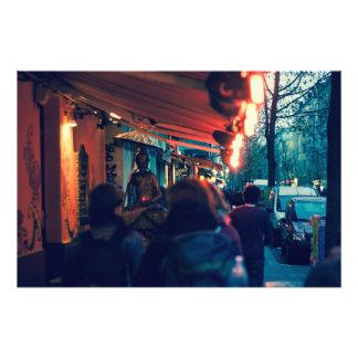 Streets of Berlin Art Photo