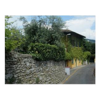 Streets of Fiesole Postcard