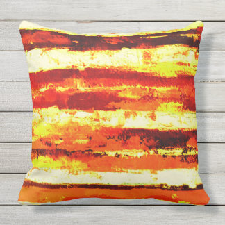 Streets of Gold Outdoor Pillow