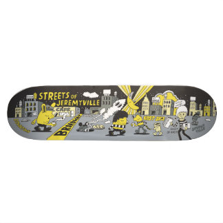 Streets of Jeremyville Skateboard Deck