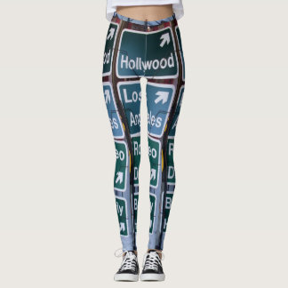 STREETS OF L.A. CALIFORNIA leggings