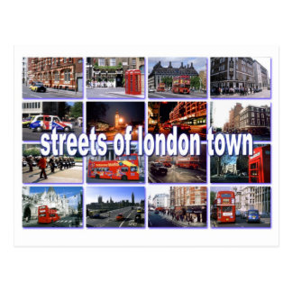 streets of london postcard