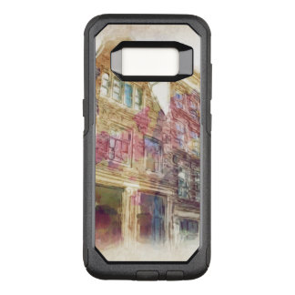 Streets of Old Amsterdam OtterBox Commuter Samsung Galaxy S8 Case