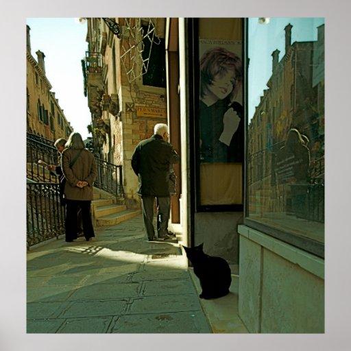 Streets of Venice III Print