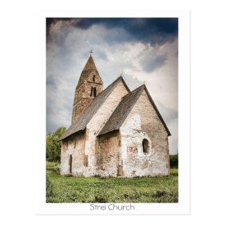 Strei Church Postcard