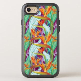 Strelitzia Pattern OtterBox Symmetry iPhone 8/7 Case