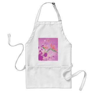Strelizie beautiful flower aprons