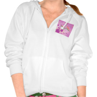Strelizie beautiful flower sweatshirt