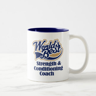 Strength and Conditioning Coach Gift Two-Tone Coffee Mug