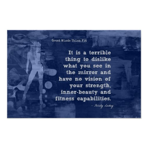 Strength and Inner-Beauty! Print