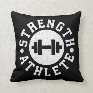 Strength Athlete Throw Pillow