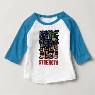 """Strength"" Baby 3/4 Raglan T-Shirt"