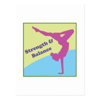 Strength & Balance Postcard