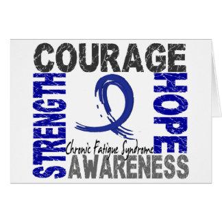 Strength Courage Hope CFS Card