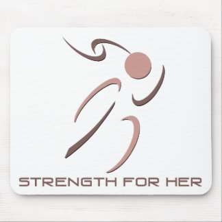 Strength for Her Mousepad