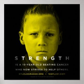 """Strength Heavyweight Poster - 12"""""""