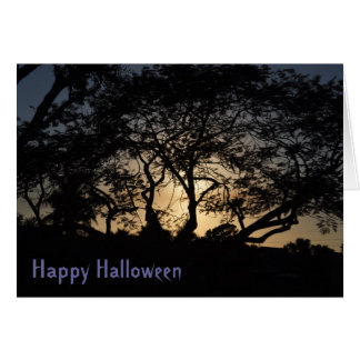 STRENGTH IN BRANCHES Halloween Card