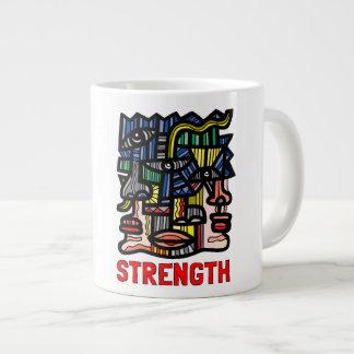 """""""Strength"""" Jumbo Mug"""