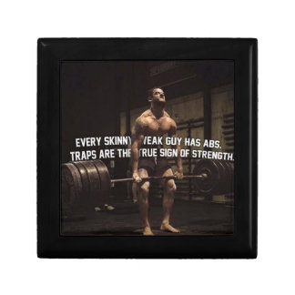Strength Training Motivation - Traps - Workout Gift Box
